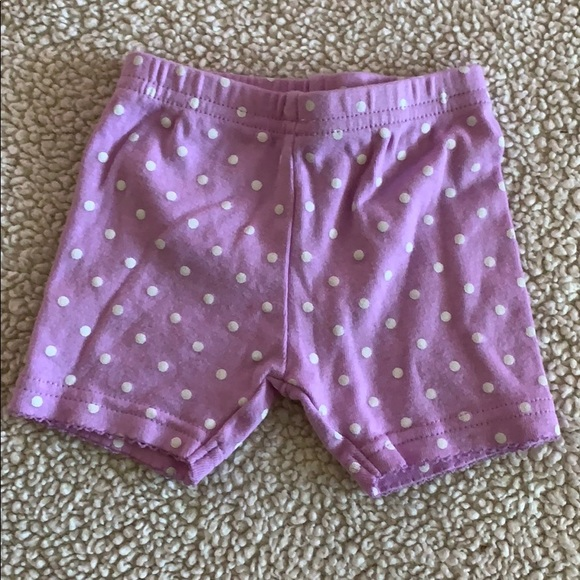 24 Months Blue Carters Baby Girls Polka Dot Twill Shorts